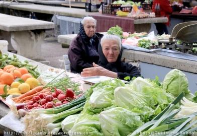 Marché de Trogir - Croatie