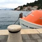 Mljet - Croatie - Chaloupe et équipage Belle de l'Adriatique