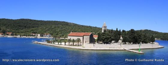 Monastère franciscain de la péninsule de Prirovo - Vis - Croatie