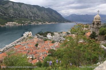 Panorama depuis le Fort Saint Jean - Kotor - Montenegro