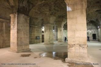 Souterrains du palais Dioclétien de Split - Croatie