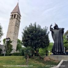 statue monumentale de Grégoire de Nin - Split - Croatie