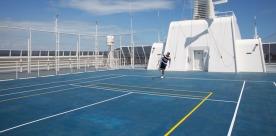 The World - Terrain de tennis