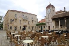Tour de l'horloge et loggia de Trogir - Croatie