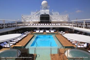 Seven Seas Explorer - Piscine et solarium