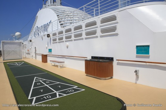 Seven Seas Explorer - Recreation Area - Jeu de palet - Shuffle board