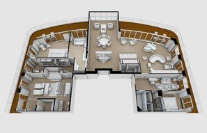 Seven Seas Explorer - Regent Suite