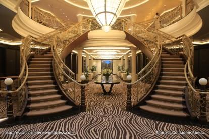 Seven Seas Explorer Atrium