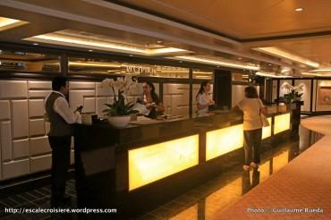Seven Seas Explorer - Bureau information et des excursions