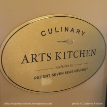 Seven Seas Explorer - Culinary Arts Kitchen - Atelier d'art culinaire