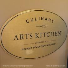 Seven Seas Explorer - Culinary Arts Kitchen - Atelier d'art culinaire