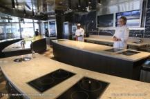 Seven Seas Explorer - Culinary Arts Kitchen - Cours de cuisine