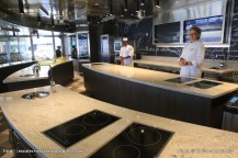Seven Seas Explorer - Culinary Arts Kitchen - Cours de cuisine