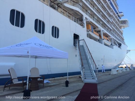 Seven Seas Explorer - Embarquement