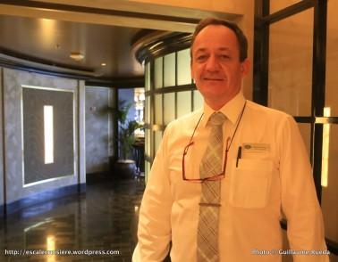 Seven Seas Explorer - Stéphane Michel Jacquinot - Maître d'Hôtel - Restaurant Chartreuse