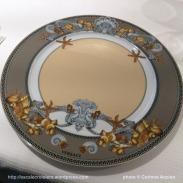 Seven Seas Explorer - Vaisselle Versace - Restaurant Chartreuse