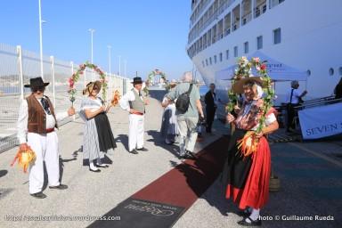 Terminal croisière de La Seyne sur mer - accueil croisière