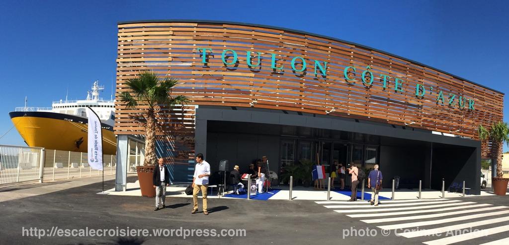 Terminal Croisière de Toulon Côte d'Azur