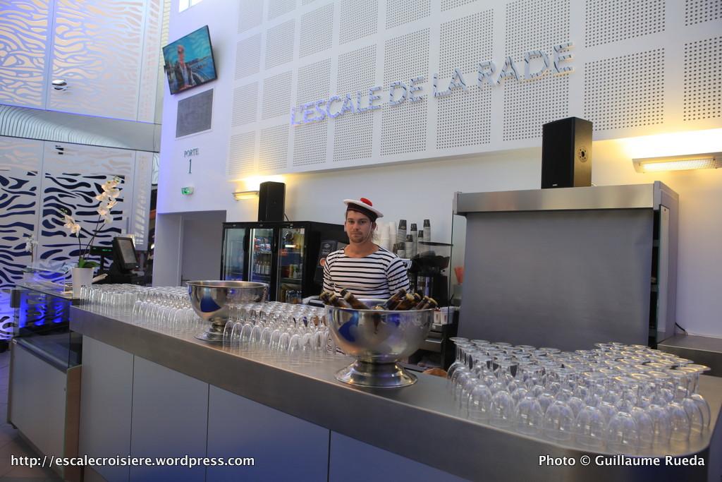 Terminal Croisière de Toulon Côte d'Azur - Bar de la rade