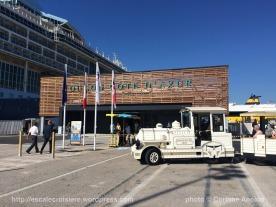 Terminal Croisière de Toulon et petit train