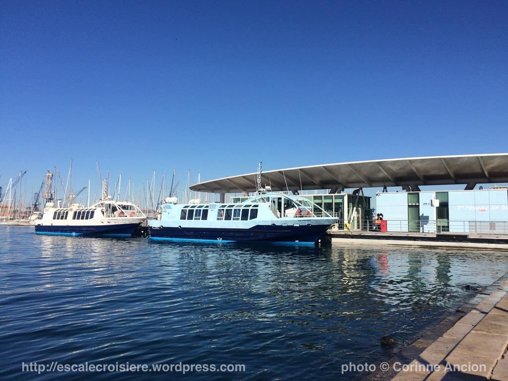 Toulon - Gare maritime des bateaux bus