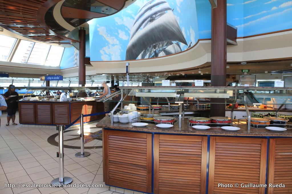 TUI Discovery - Restaurant buffet Islands