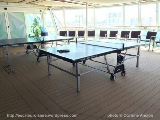 TUI Discovery - tables de ping pong
