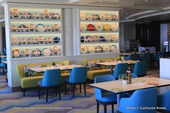 Mein Schiff 5 - Restaurant Atlantik - Mediterran