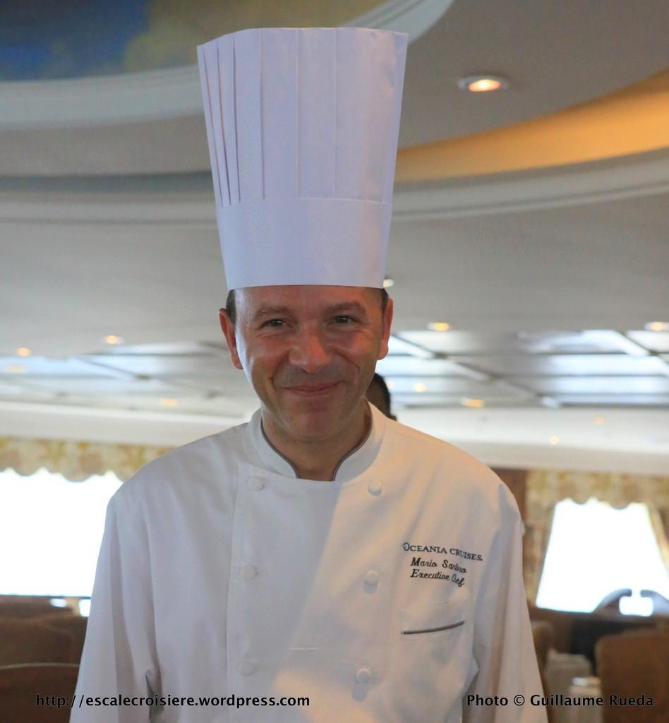 Sirena - Oceania - Restaurant Jacques Bistro - Chef Mario Santero