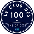 Logo Le Club des 100 - The Bridge