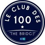 Logo Le Club des 100 - The Bridge