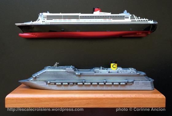 Maquettes paquebots