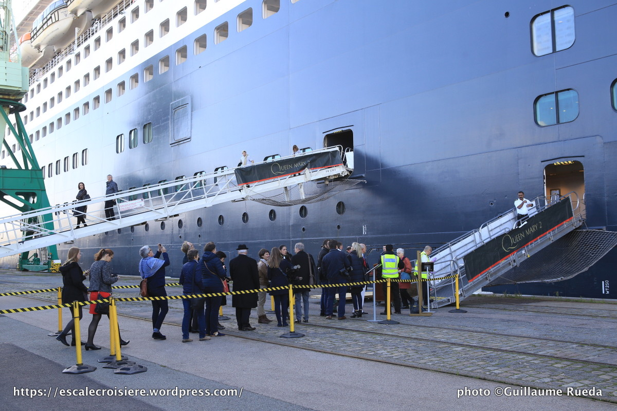 Queen Mary 2 - Embarquement 2016