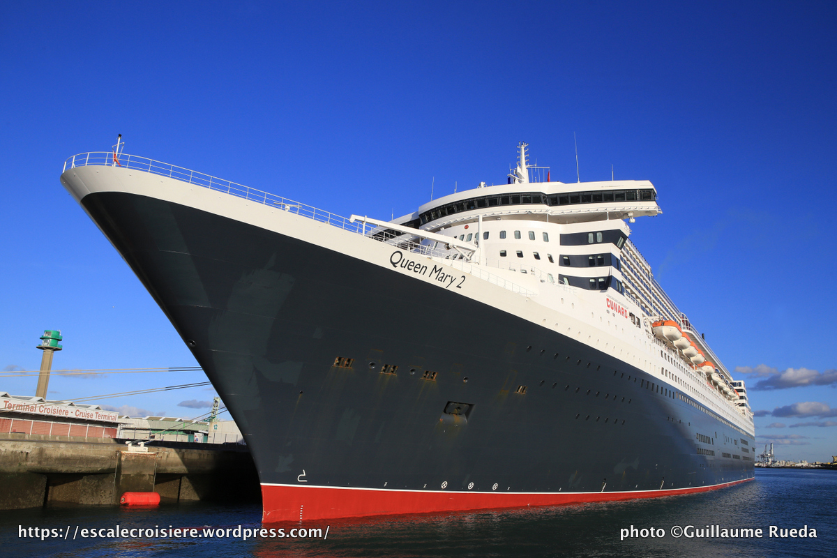 Queen Mary 2 - Le Havre 2016