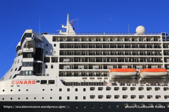 Queen Mary 2 - nouvelles cabines