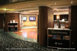 MSC Fantasia - Bureau des excursions