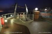 MSC Fantasia by night