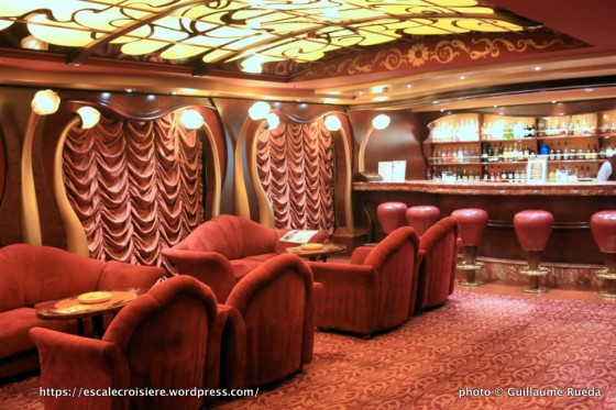 MSC Fantasia - Cigar Lounge