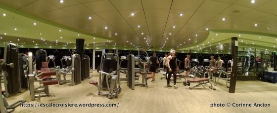 MSC Fantasia - Salle de sport et fitness