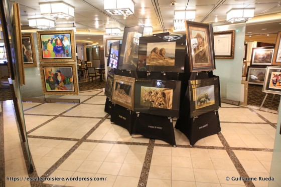 Celebrity Equinox - Galerie d'art