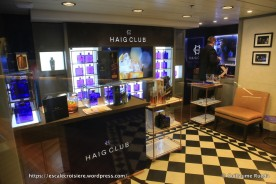 Celebrity Equinox - Haig Club - Whisky