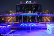 Celebrity Equinox - Piscine extérieure by night
