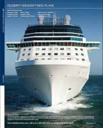 Celebrity Equinox - plan des ponts