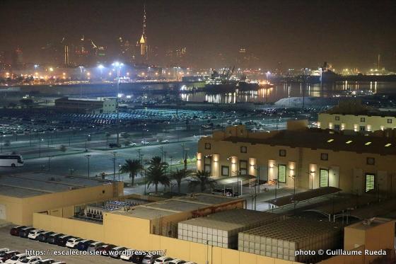 Escale à Dubaï - Emirats Arabes - Gare maritime de Dubaï