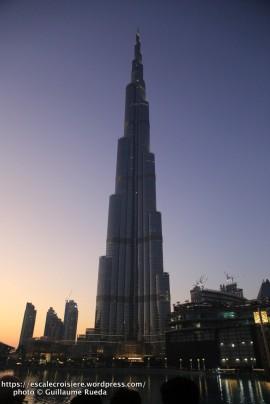 Escale à Dubaï - Emirats Arabes - Burj Khalifa