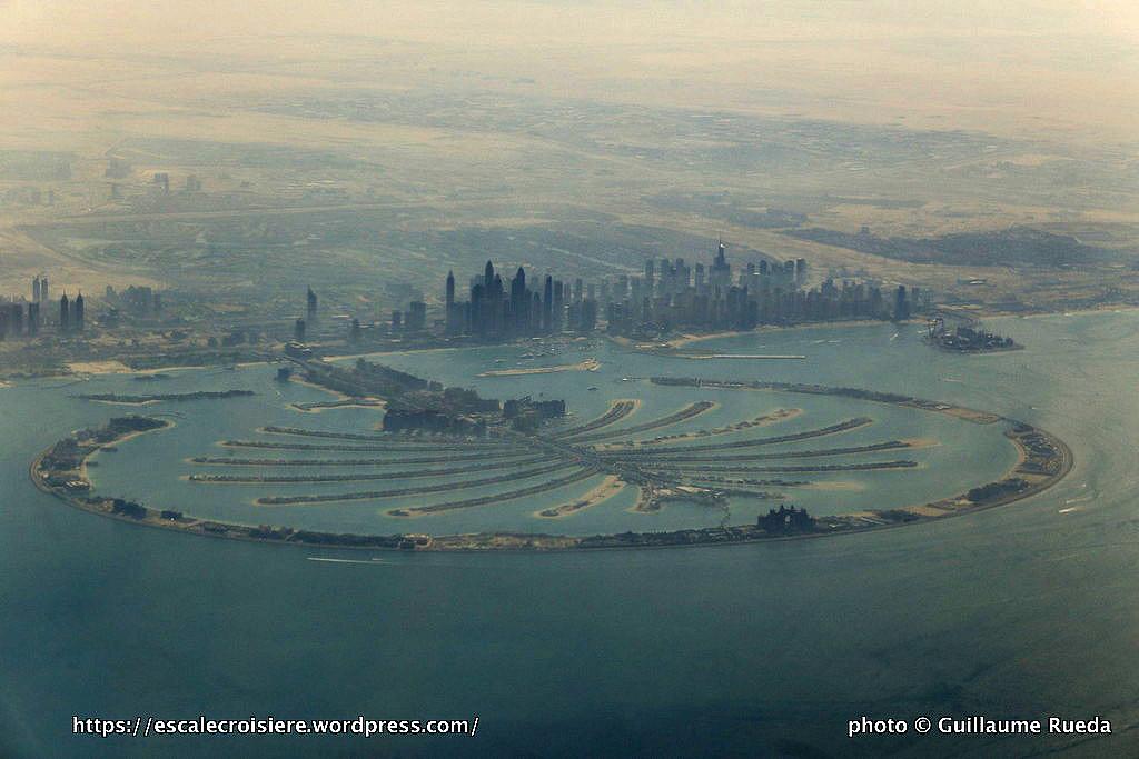 Escale à Dubaï - Emirats Arabes - Palm Jumeirah