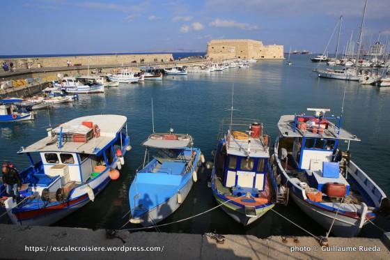 Escale à Heraklion - Grèce - Forteresse de Koules