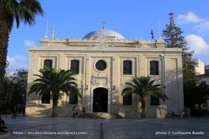 Escale à Heraklion - Grèce - Eglise St Titus