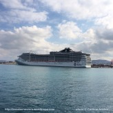 Escale à Heraklion - MSC Fantasia