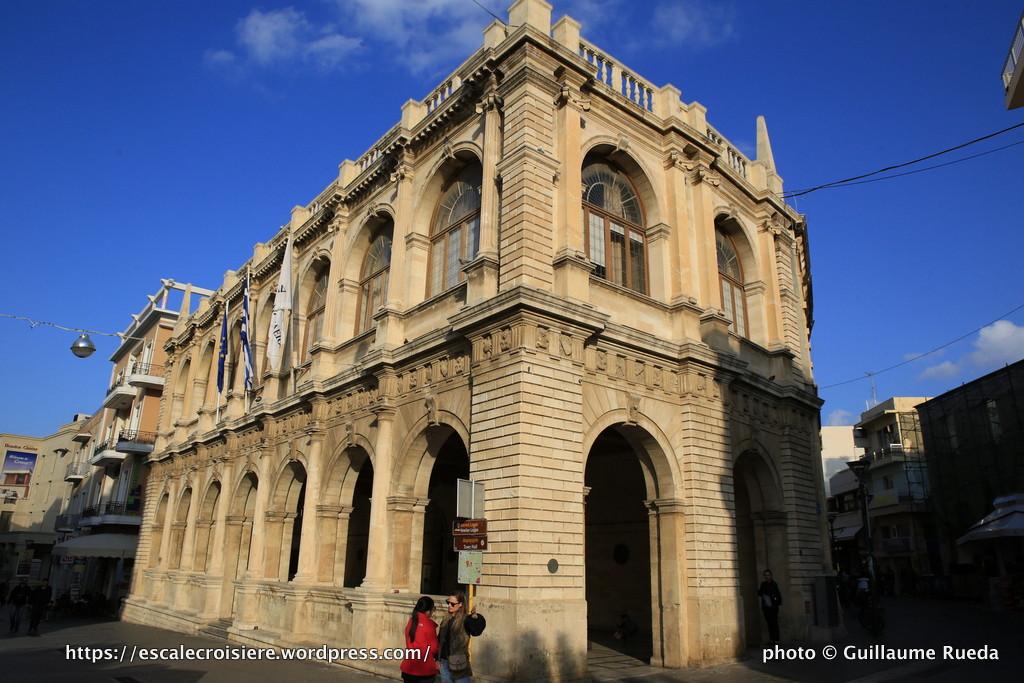 Escale à Heraklion - Grèce - Town Hall loggia